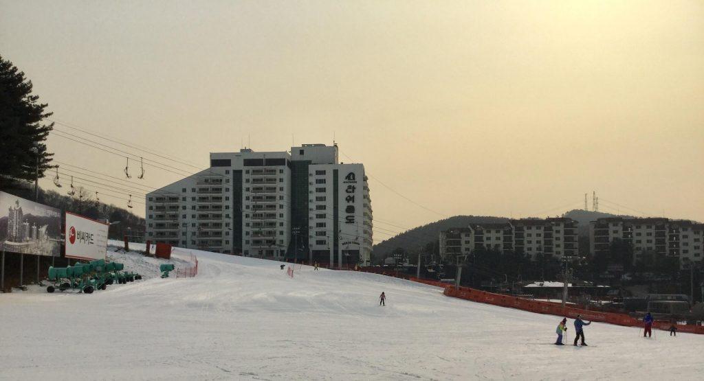 Ski slopes at Bears Town
