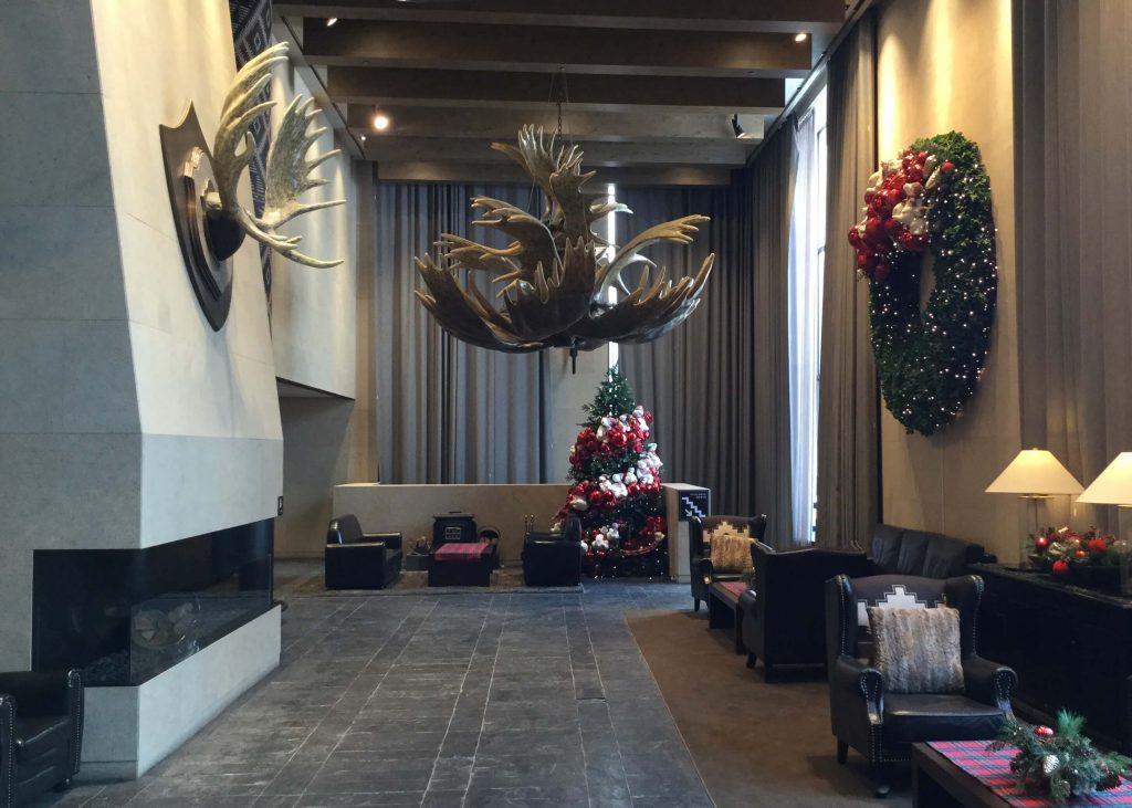 Hotel interior at Bears Town Resort