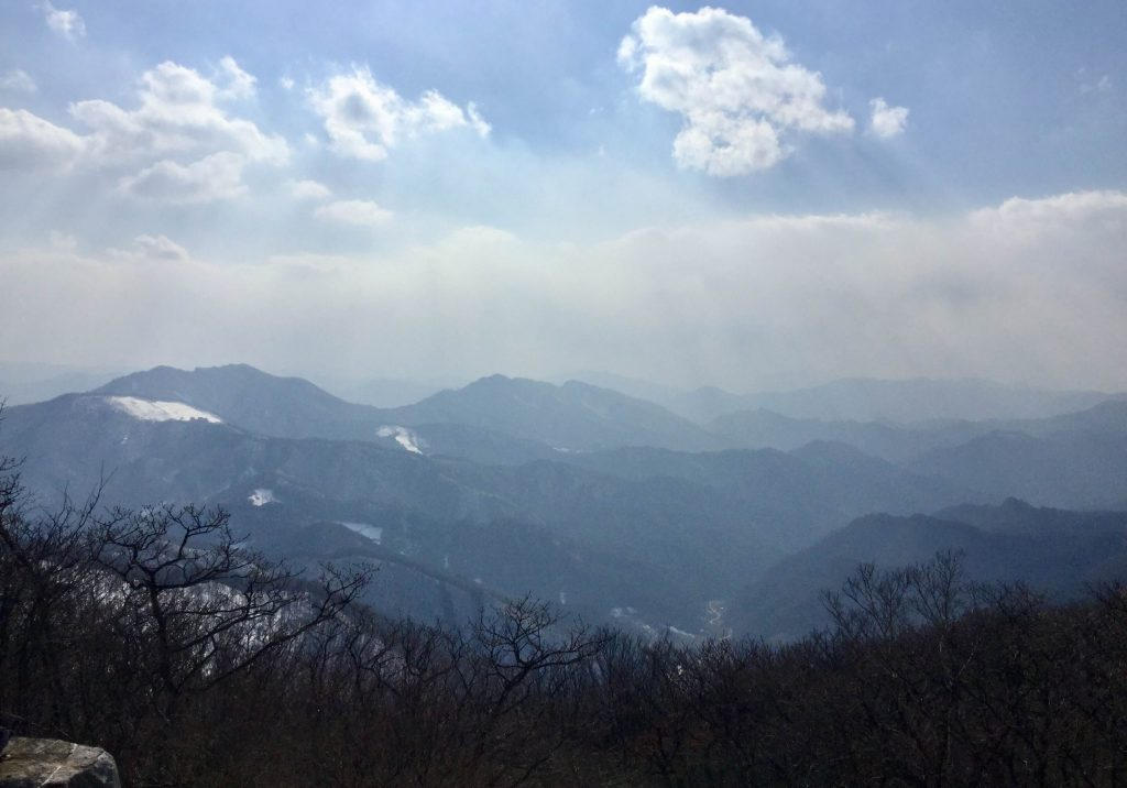 Mountain scenery at High1