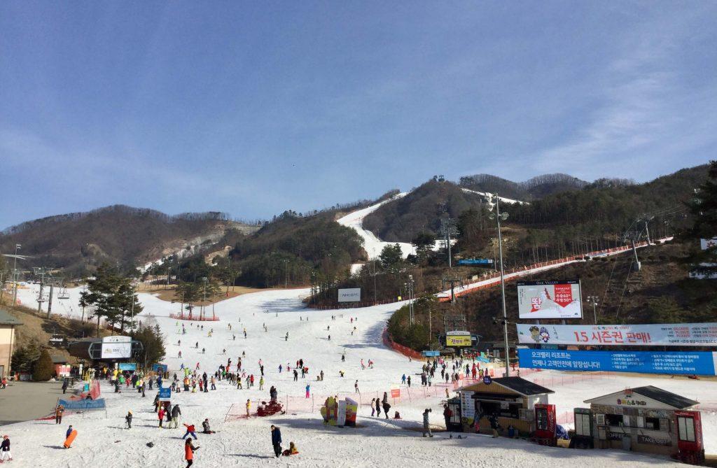 Ski slopes at Oak Valley Resort
