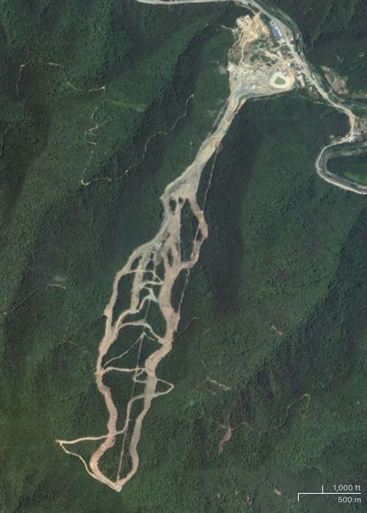 Satellite view of Jeongseon Alpine Centre