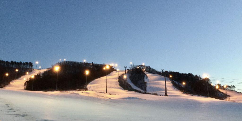Ski slopes at Alpensia