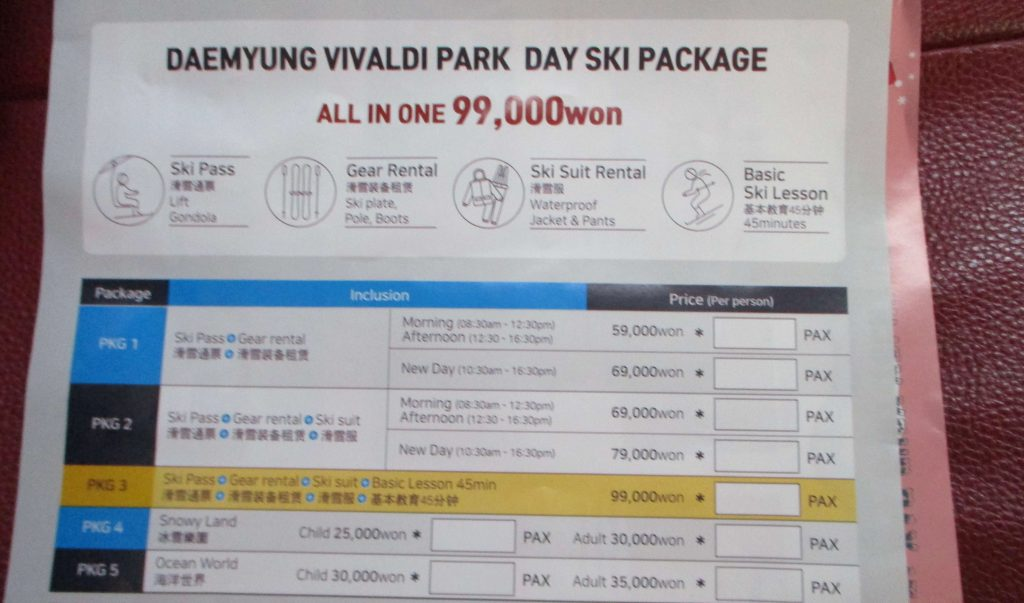 Discounts available at Vivaldi Park to shuttle bus passengers