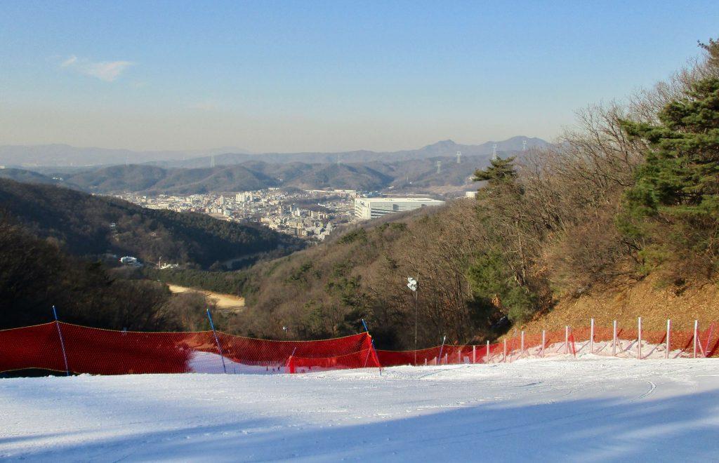 View from Yangji Pine Resort